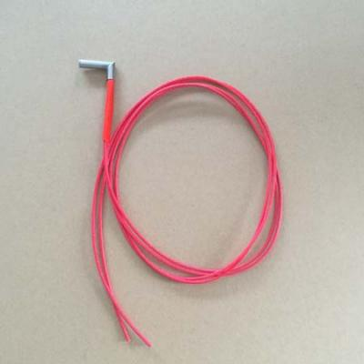 Cartridge heater 40w right angle with 1 m leads