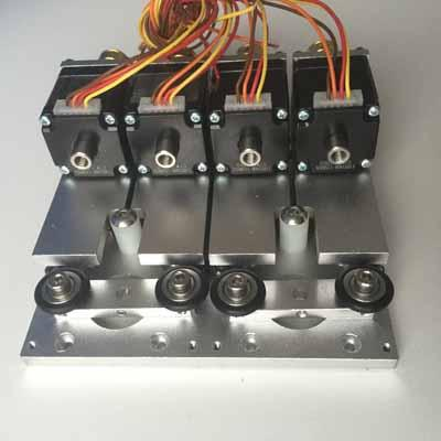 Dual PnP Head for SMD Machine