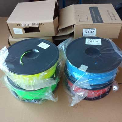 1.75mm PLA Filament red, blue, yellow or green