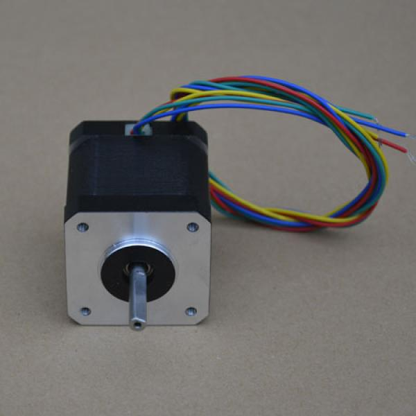 42bygh nema17 stepper motor robotdigg for Stepper motor step size