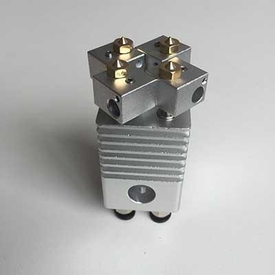All metal Quad Extruder Torch