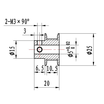 t5 pulley