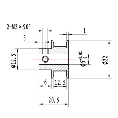 htd5m pulley