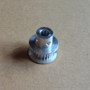 MXL pulley, 18 tooth, 5mm bore