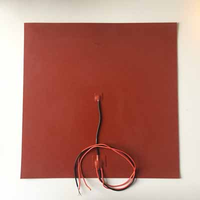 400mm silicone heater pad