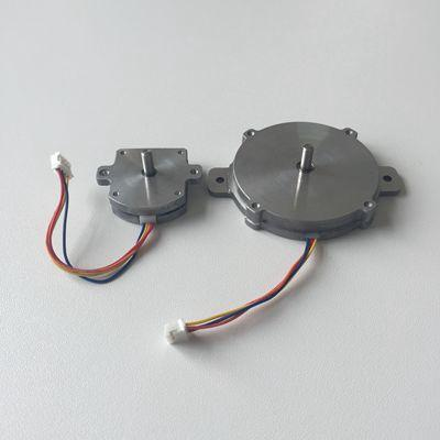Ultraflat stepper motor for feeder or stirrer
