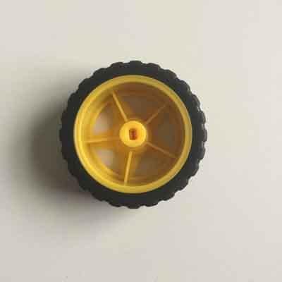 Robot Car Wheel for 130 Gear Motor