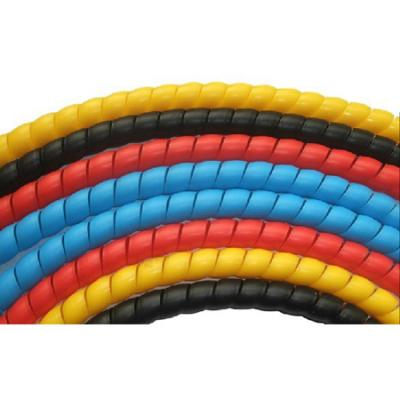 12mm diameter 2 meters colorful spiral cable wrap