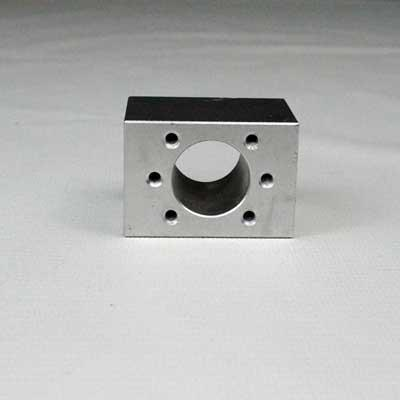 Ballscrew Nut aluminum block 12mm to 32mm