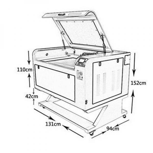 6090 cnc engraving machine marking machine