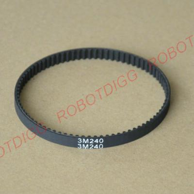 240mm, 243mm, 246mm or 249mm long endless 3M belt
