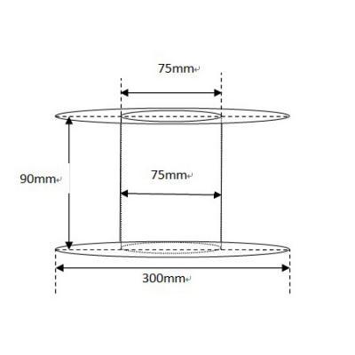 5Kgs Roll 1.75mm PLA Filament Black or White