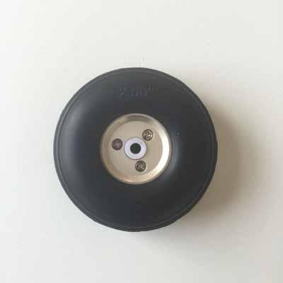 2.5 inches PU RC airplane wheel