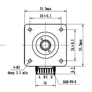 4 Phase Stepper Motor