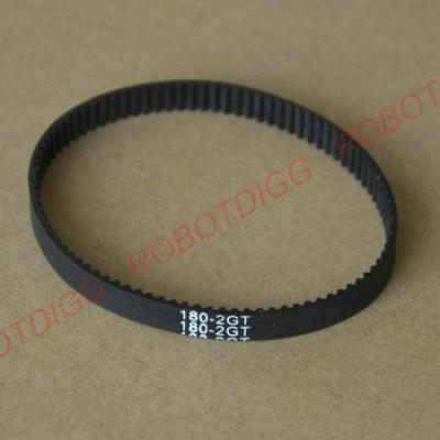 180mm or 186mm 2GT endless belt