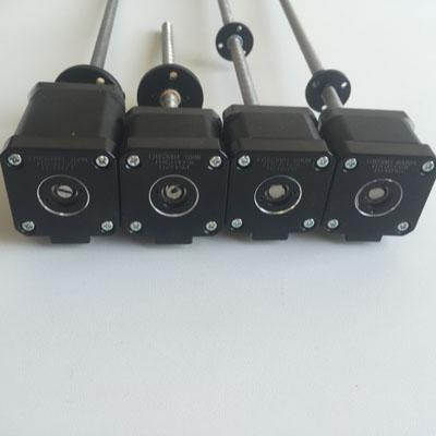 Stocked linear steppers