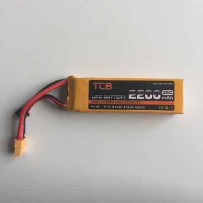 TCB Drone Battery 11.1V 2200mAh