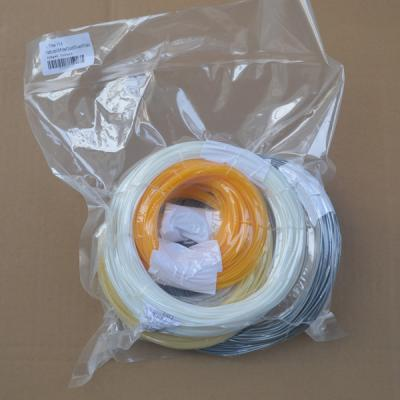 1.75mm PLA Filament in 5 colors, each color 100g, 500g Pack