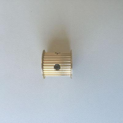 GT2 profile 30 tooth brass pulley