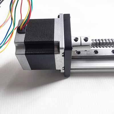 Nema23 stepper 400mm linear module