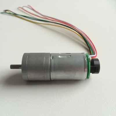 371 gear motor with encoder