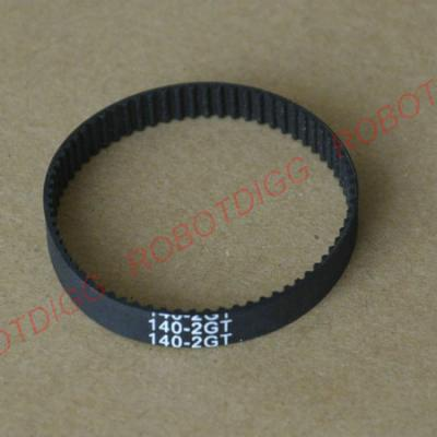 140mm, 150mm or 154mm long 2GT endless belt