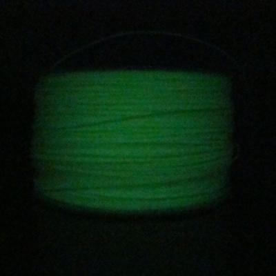 1.75mm Glow in Dark Green PLA Filament