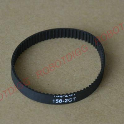 158/160/162/164/166mm closed-loop GT2 belt