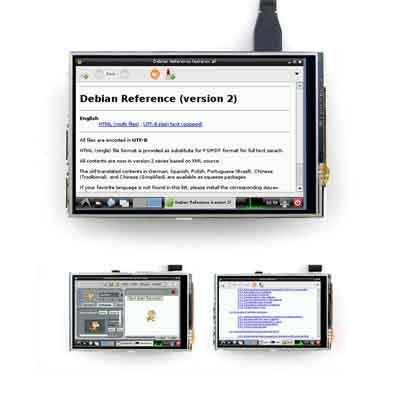 3.5' RPi TFT LCD