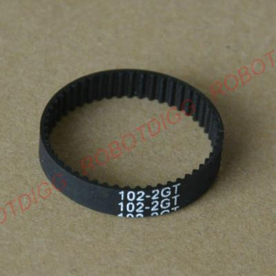 98mm or 102mm 2GT closed-loop belt