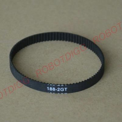 188,190,192 or 194mm GT2 endless belt