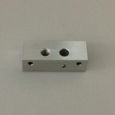 Single Extruder Bar Mount Chassis Block