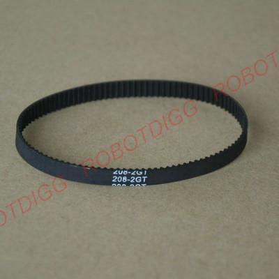 208mm 214mm 2GT closed-loop belt