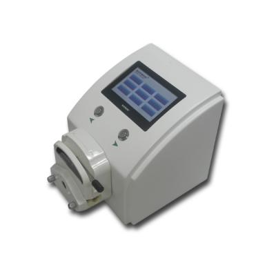 Single-channel screen touch peristaltic pump