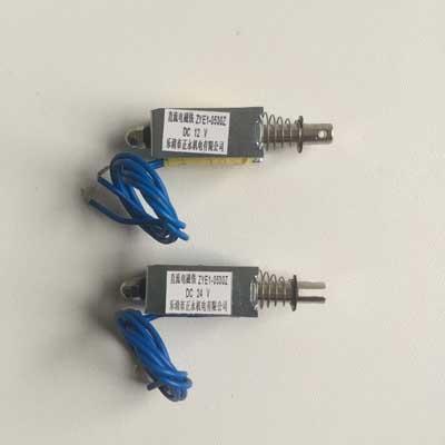 ZYE1-0530 push-pull type open frame Solenoid Electromagnet