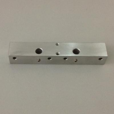 Dual Extruder Bar Mount Chassis Block