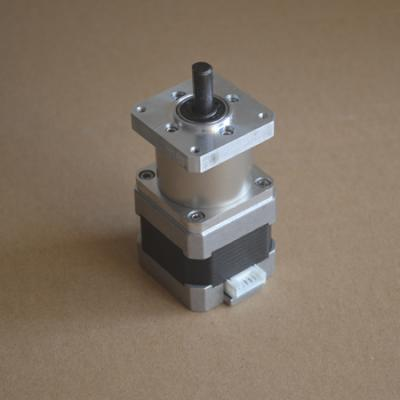 Nema17 40mm Flanged Gearhead Stepper 14:1