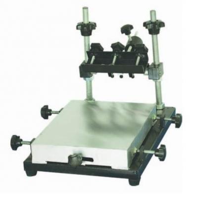 Manual PCB solder paste stencil printer