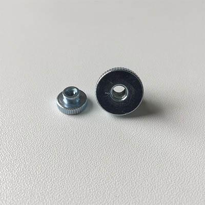Knurled grip knobs M3 to M10