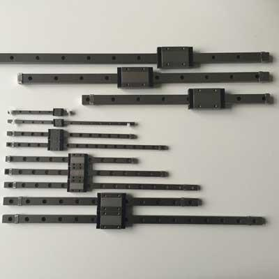Custom 440C SUS Quality Miniature Linear Rail n Carriage