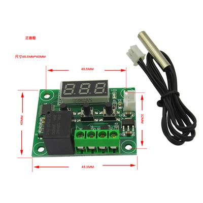 12VDC Thermostat Temperature Control Switch Thermometer -50-110°C