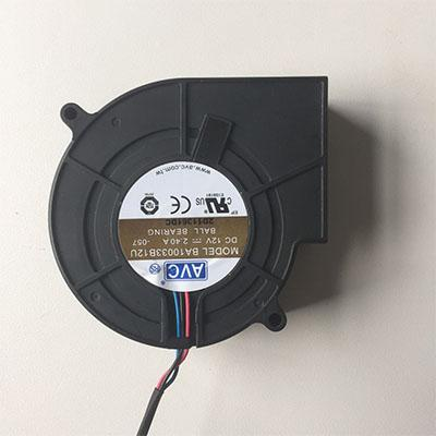 12V or 24V 9733 Ball Bearing Blower Fan