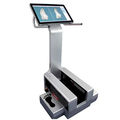 Foot-measuring 3D scanner