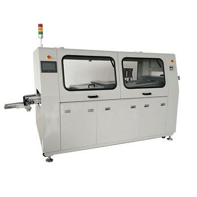 Lead-free laminar or dual wave soldering machine