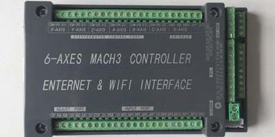 6 Axis 200KHz Ethernet Mach3 CNC Controller - RobotDigg