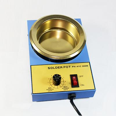 Lead Free Soldering Pot Titanium Plate Solder Bath
