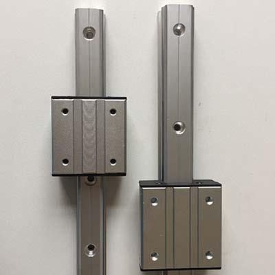 LGD6, LGD8, LGD12 or LGD16 outer roller bearing linear guide