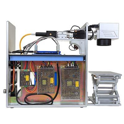 20W Enclosed Optical Fiber Laser Marking Machine