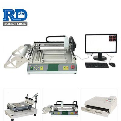 TVM802A-X or RDG802B-X Embedded PC workbench pick and place machine