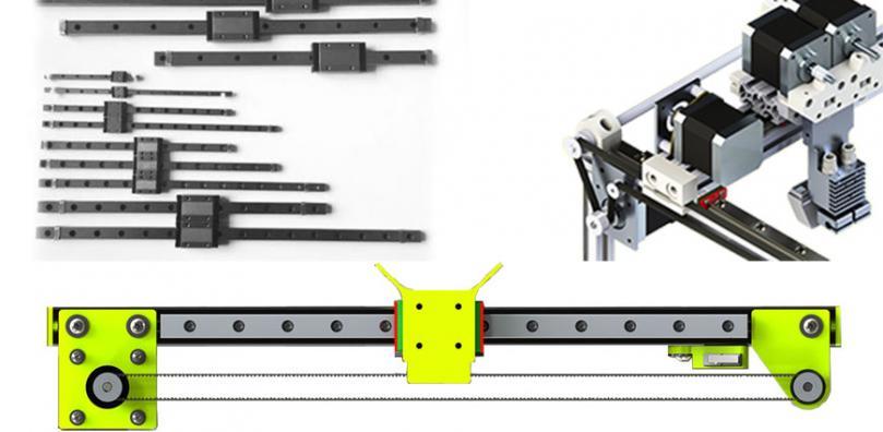 RobotDigg Linear Rails